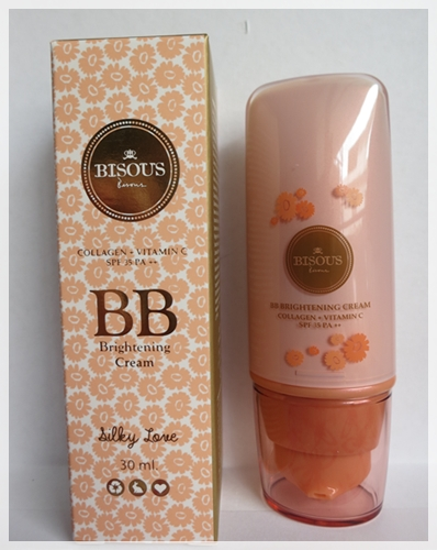 Review : Bisous bisous BB Brightening Cream (1/6)