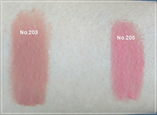 Color Swatch : MayBelline Water Shine Pure Dreamy (5/6)