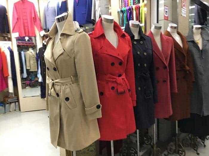 Coat tailoring in Shanghai