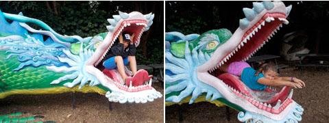 Auckland zoo kidzone