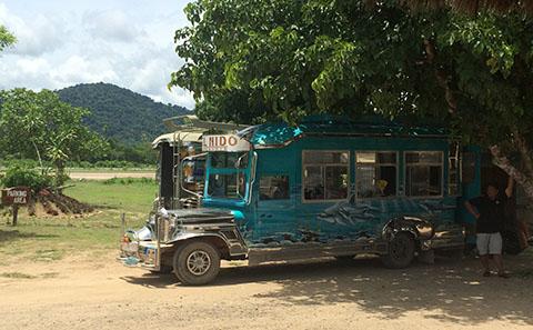 El Nido jeepney