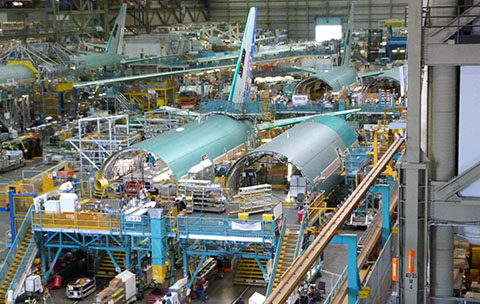 Boeing factory 777