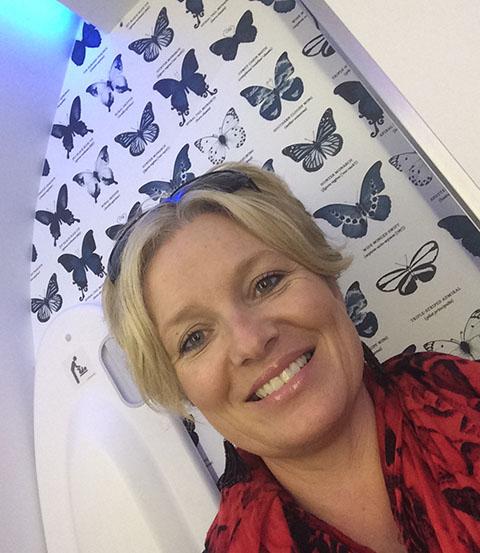 Dreamliner butterfly toilet