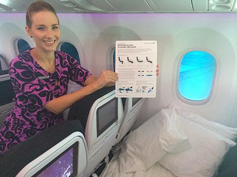 Dreamliner cuddle class
