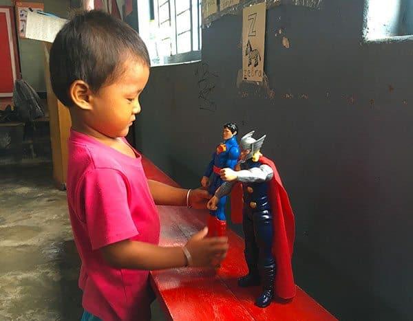 Kids at Male Patan