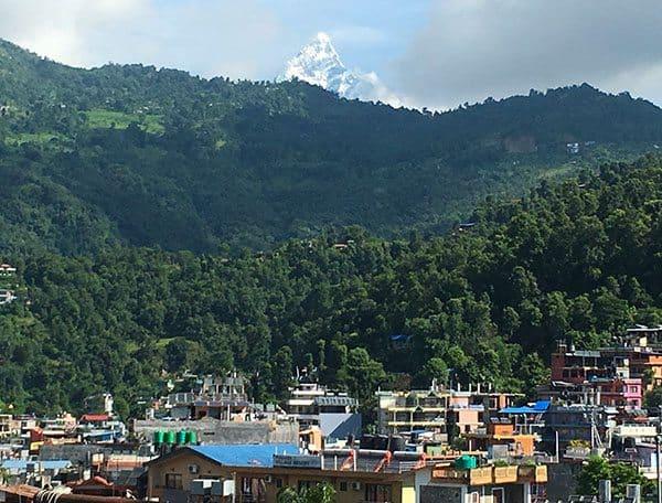 Pokhara mountains