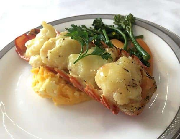 Lobster on Singapore airlines