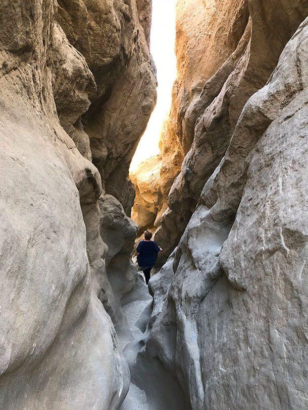 San Andreas slot canyon
