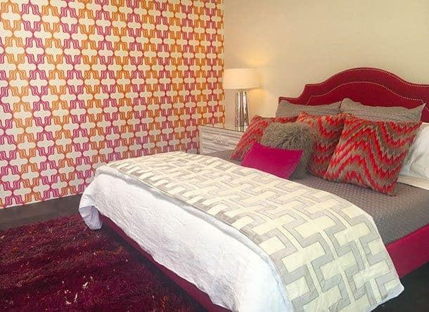Palm Springs midcentury modern bedroom