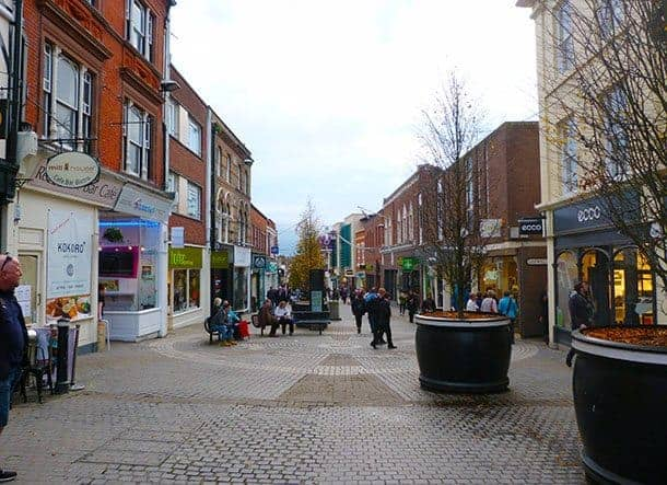Windsor town centre