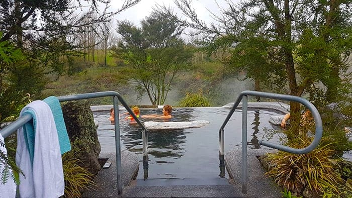 hot pools in Rotorua