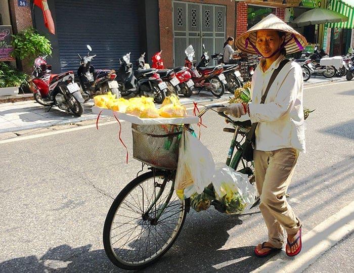 Sun hat in Vietnam