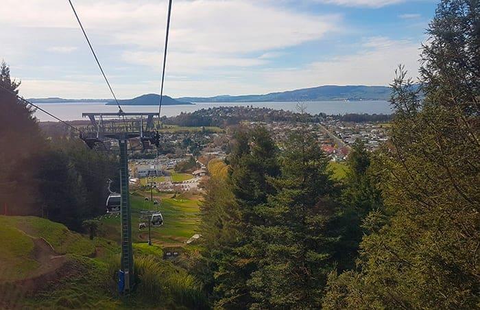 Rotorua gondola ride