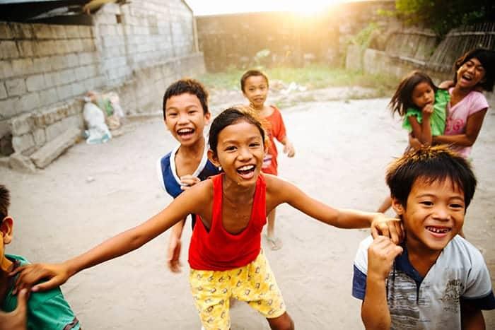Children in Philippines