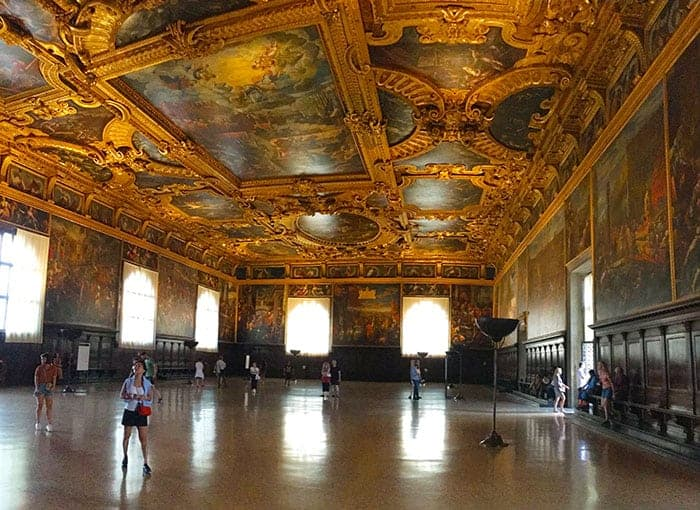 great hall doges palace