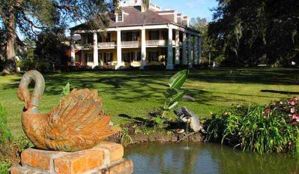 Houmas House pond