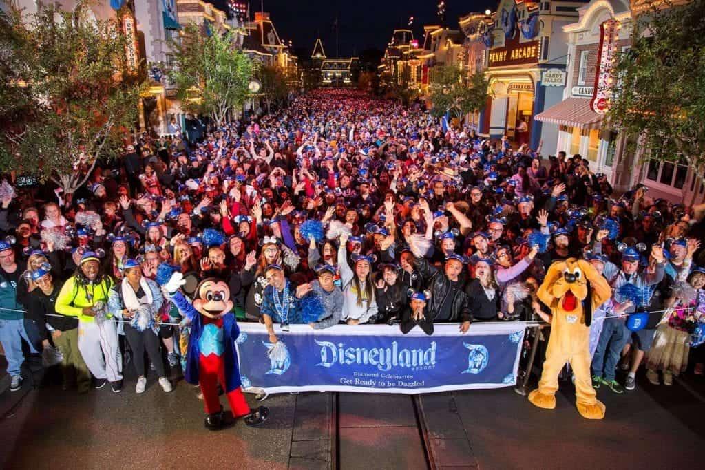 Group in Disneyland