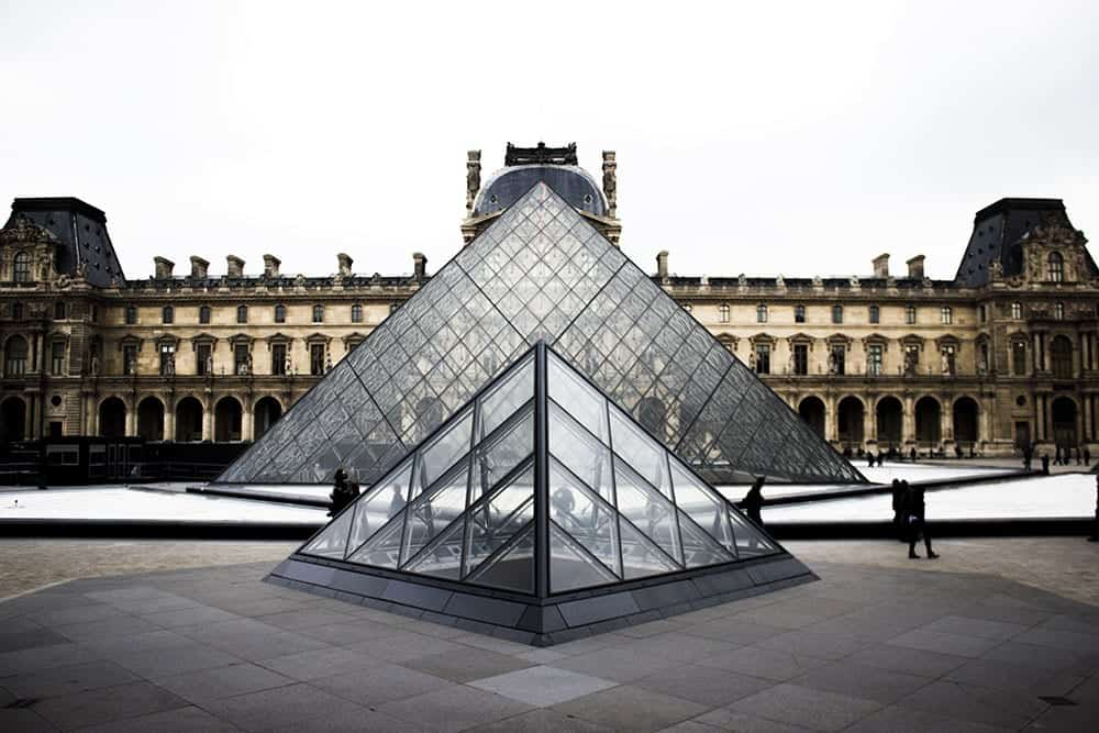 The Louvre Museum built to house royal art