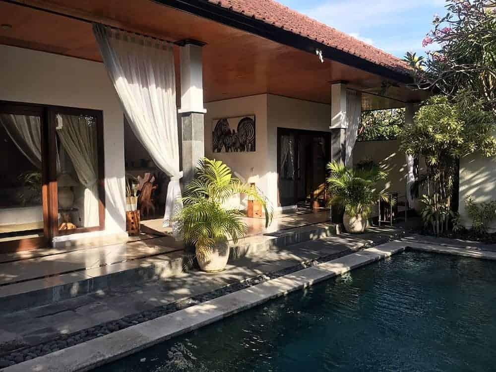 Bali villa with pool