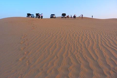 Abu Dhabi dune bashing