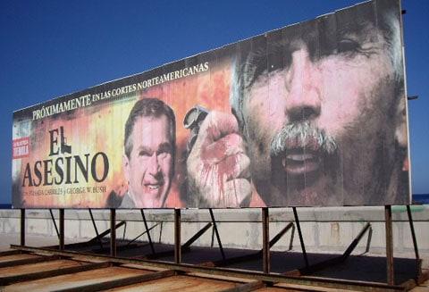 Cuba billboard