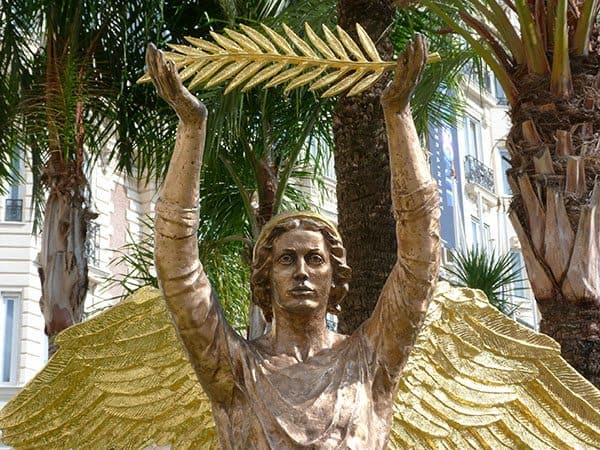 Cannes golden statue