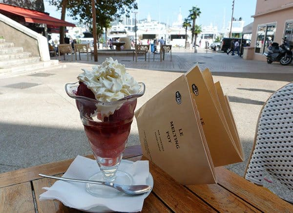 Cannes ice cream