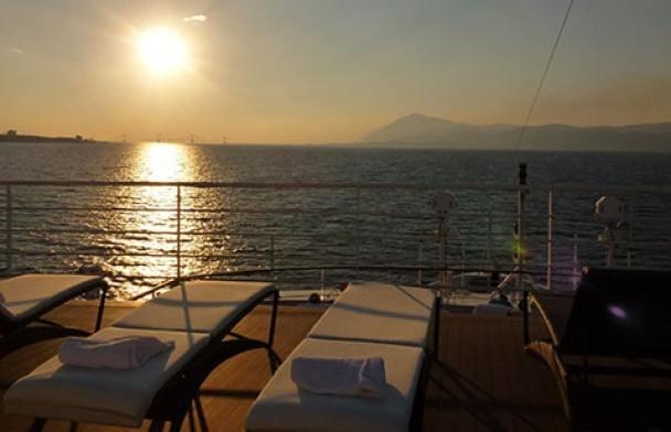Ponant cruise ship