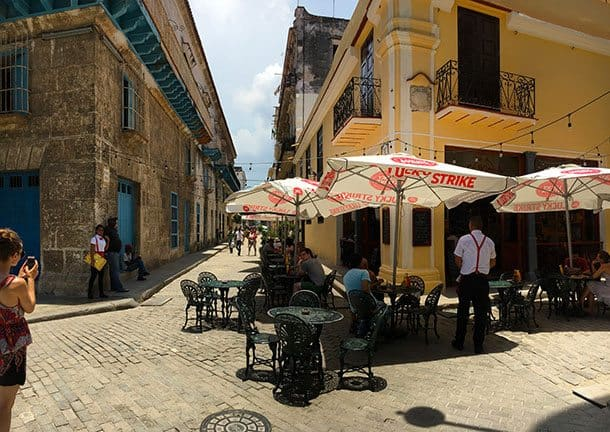Havana Cuba restaurant