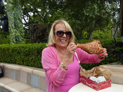 Disney turkey leg