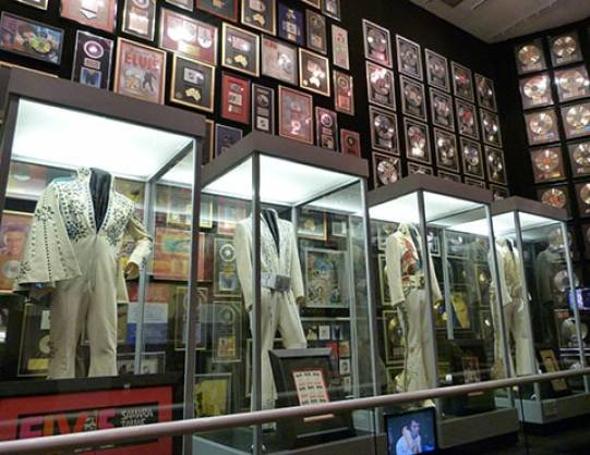 Elvis Presley racquet ball room