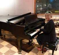 Studio B grand piano