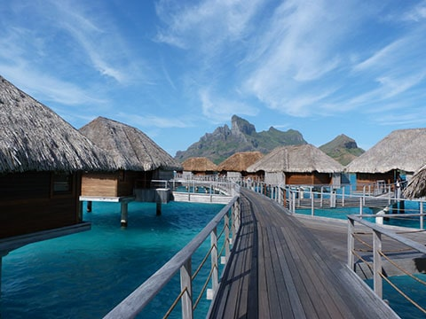 Four seasons overwater bungalows