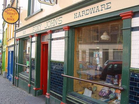 Foxy Johns pub Dingle Ireland