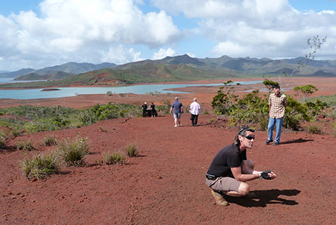 Red soil New Caledonia