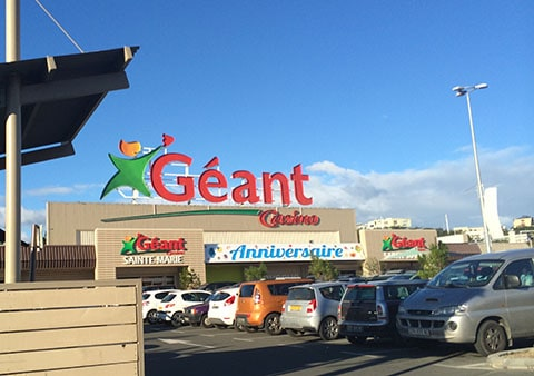 Geant supermarket, New Caledonia