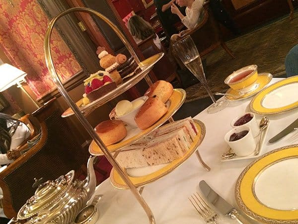 Goring Hotel high tea London