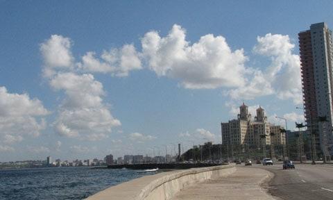 Havana sea front
