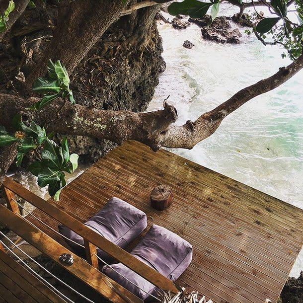 Hidden Cove eco retreat veranda