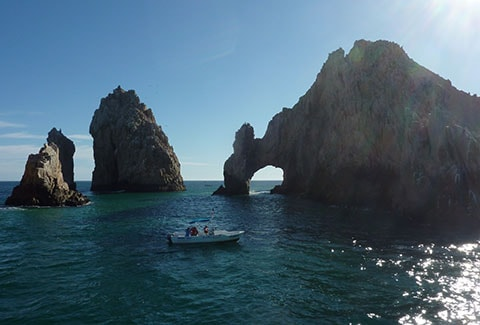 Hole in the rock, Cabo
