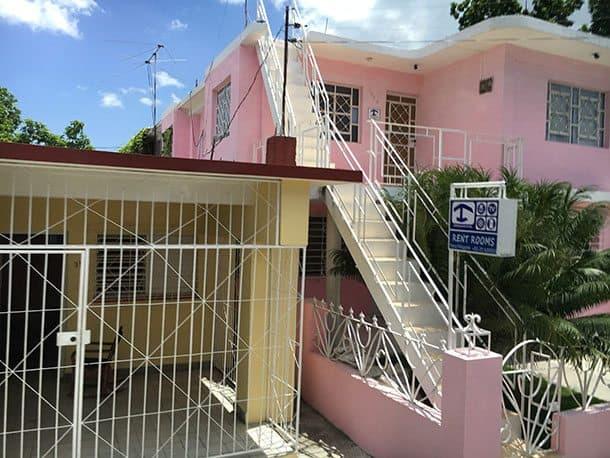 Guest house in Cuba