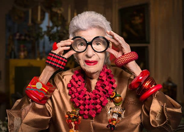 Iris Apfel fashion cruise