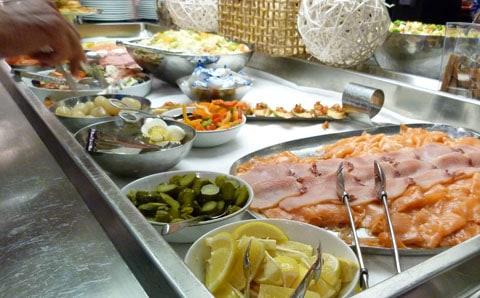 L'Austral salad bar