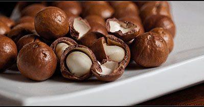 Macadamia satay