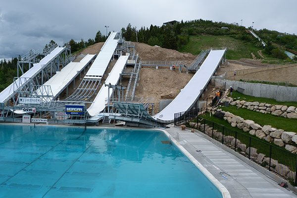 Olympic park slides Utah