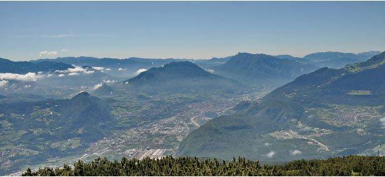 Paganella mountains Italy