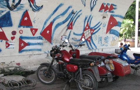 Cuba graffiti