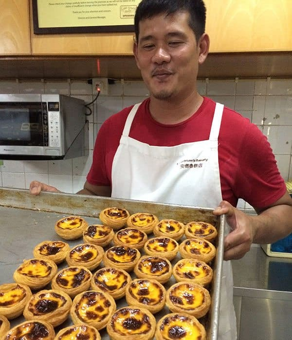 Lord Stow's egg tarts