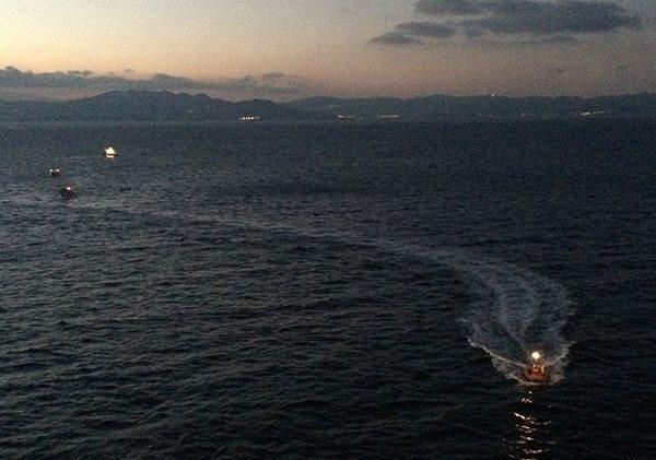 Cruise ship migrant rescue