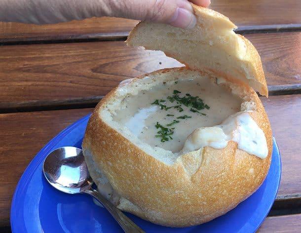 San Francisco chowder bowl